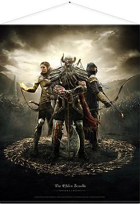 Einfach und sicher online bestellen: Elder Scrolls Online Wandrolle Legends 100 x 77 cm in Österreich kaufen.