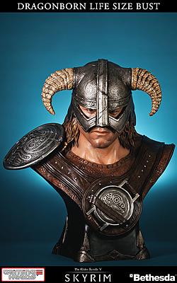 Einfach und sicher online bestellen: The Elder Scrolls V Skyrim Büste Dragonborn in Österreich kaufen.