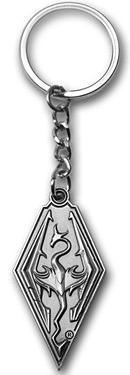 Einfach und sicher online bestellen: The Elder Scrolls Skyrim Schlüsselanhänger Dragon in Österreich kaufen.