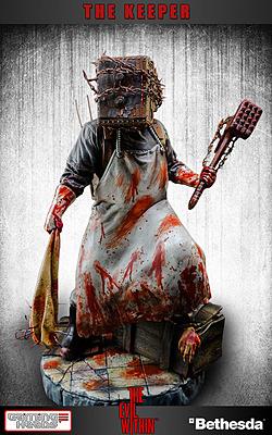 Einfach und sicher online bestellen: The Evil Within Statue The Keeper 38 cm in Österreich kaufen.