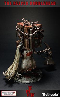 Einfach und sicher online bestellen: The Evil Within Wackelkopf-Figur The Keeper 15 cm in Österreich kaufen.