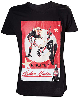 Einfach und sicher online bestellen: Fallout 4 T-Shirt Nuka Cola Lady M in Österreich kaufen.