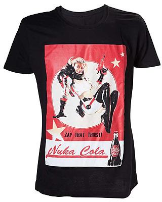 Einfach und sicher online bestellen: Fallout 4 T-Shirt Nuka Cola Lady XL in Österreich kaufen.