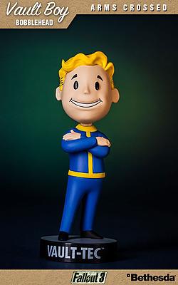 Einfach und sicher online bestellen: Fallout Wackelkopf-Figur Vault-Boy Arm Crossed in Österreich kaufen.