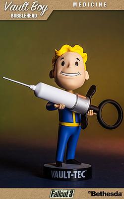 Einfach und sicher online bestellen: Fallout Wackelkopf-Figur Vault-Boy Medicine in Österreich kaufen.