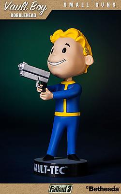 Einfach und sicher online bestellen: Fallout Wackelkopf-Figur Vault-Boy Small Guns in Österreich kaufen.