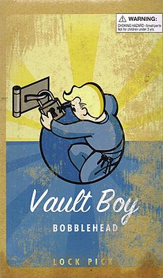 Einfach und sicher online bestellen: Fallout Wackelkopf-Figur Vault-Boy Lock Pick in Österreich kaufen.