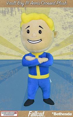 Einfach und sicher online bestellen: Fallout 4 Plüschfigur Vault Boy 111 Arms Crossed in Österreich kaufen.