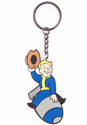 Einfach und sicher online bestellen: Fallout 4 Gummi-Schlüsselanhänger Bomber Skill in Österreich kaufen.