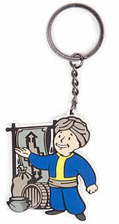 Einfach und sicher online bestellen: Fallout 4 Gummi-Schlüsselanhänger Merchant in Österreich kaufen.