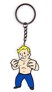 Einfach und sicher online bestellen: Fallout 4 Gummi-Schlüsselanhänger Strength Skill in Österreich kaufen.