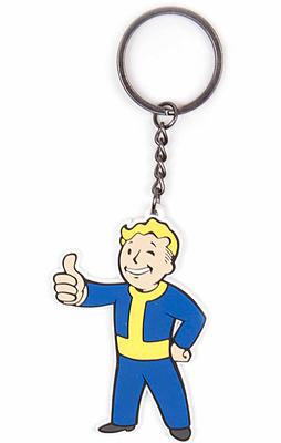 Einfach und sicher online bestellen: Fallout 4 Gummi-Schlüsselanhänger Vault Boy in Österreich kaufen.