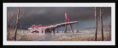 Einfach und sicher online bestellen: Fallout Poster Red Rocket in Österreich kaufen.