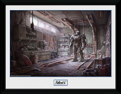 Einfach und sicher online bestellen: Fallout Poster Red Rocket Interior in Österreich kaufen.