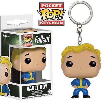 Einfach und sicher online bestellen: Fallout 4 POP! Vinyl Schlüsselanhänger Vault Boy in Österreich kaufen.