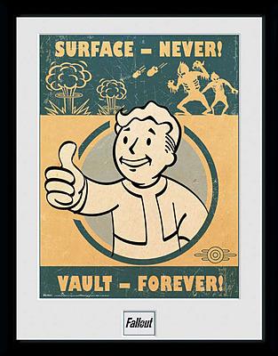 Einfach und sicher online bestellen: Fallout Poster Vault Forever in Österreich kaufen.