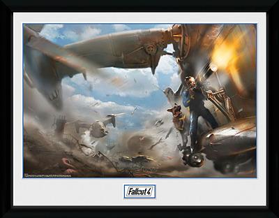 Einfach und sicher online bestellen: Fallout Poster Vertibird Door Gunner in Österreich kaufen.