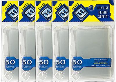 Einfach und sicher online bestellen: FFG-Hüllen 5-Pack Gelb US Mini 41x63mm in Österreich kaufen.