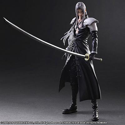 Einfach und sicher online bestellen: Final Fantasy 7 Actionfigur Sephiroth in Österreich kaufen.
