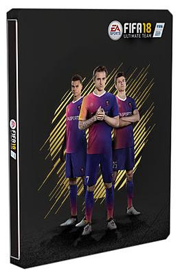 Einfach und sicher online bestellen: FIFA 18 Steelbook Upgrade in Österreich kaufen.