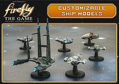 Einfach und sicher online bestellen: Firefly: The Game - Customizable Ships in Österreich kaufen.