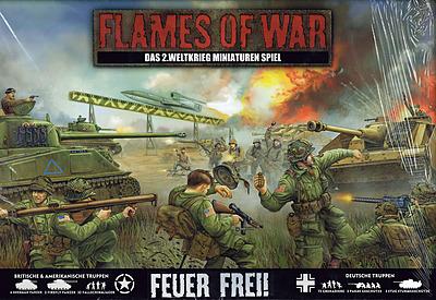 Einfach und sicher online bestellen: Flames of War: Feuer Frei!  Starterset in Österreich kaufen.