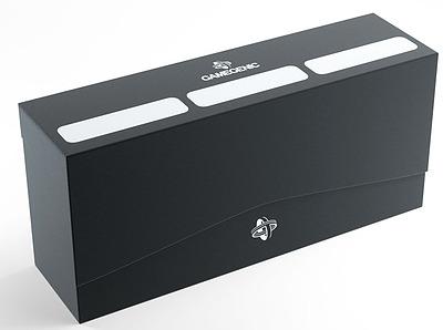Einfach und sicher online bestellen: Gamegenic - Triple Deck Holder 240+ Black in Österreich kaufen.
