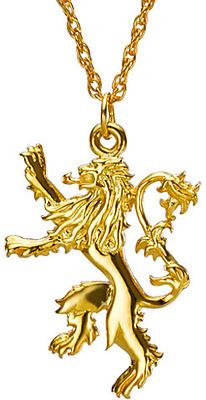 Einfach und sicher online bestellen: Game of Thrones Halskette mit Anhänger Lannister in Österreich kaufen.