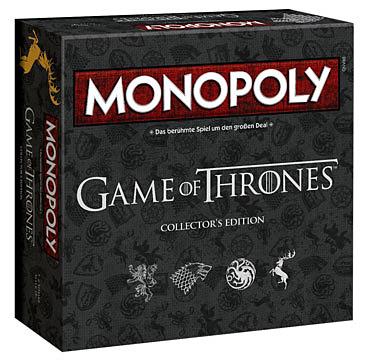 Einfach und sicher online bestellen: Game of Thrones Monopoly Collectors Edition in Österreich kaufen.