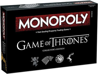Einfach und sicher online bestellen: Game of Thrones Monopoly Collectors Edition (Eng) in Österreich kaufen.