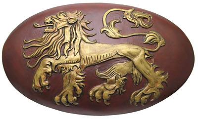 Einfach und sicher online bestellen: Game of Thrones Replik Lannister Schild 1/1 in Österreich kaufen.