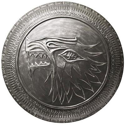 Einfach und sicher online bestellen: Game of Thrones Replik 1/1 Stark Infanterie-Schild in Österreich kaufen.