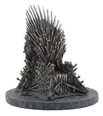 Einfach und sicher online bestellen: Game of Thrones Statue Eiserner Thron 18cm in Österreich kaufen.
