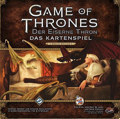 Einfach und sicher online bestellen: GoT Kartenspiel: Der Eiserne Thron 2. Edition in Österreich kaufen.