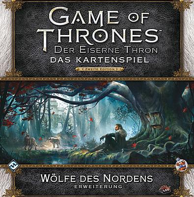 Einfach und sicher online bestellen: GoT Kartenspiel: Wölfe des Nordens in Österreich kaufen.
