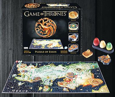 Einfach und sicher online bestellen: Game of Thrones 3D Puzzle Essos in Österreich kaufen.