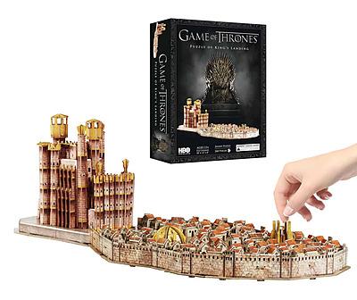 Einfach und sicher online bestellen: Game of Thrones 3D Puzzle Kings Landing in Österreich kaufen.