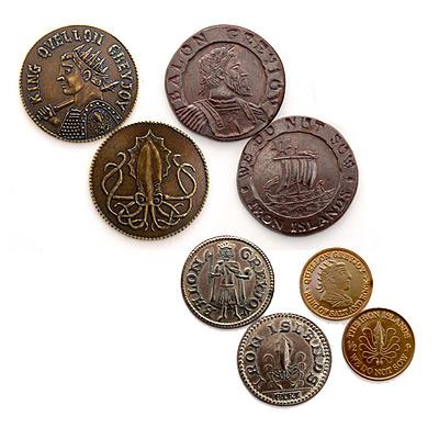 Einfach und sicher online bestellen: Game of Thrones Münzen Set House Greyjoy in Österreich kaufen.