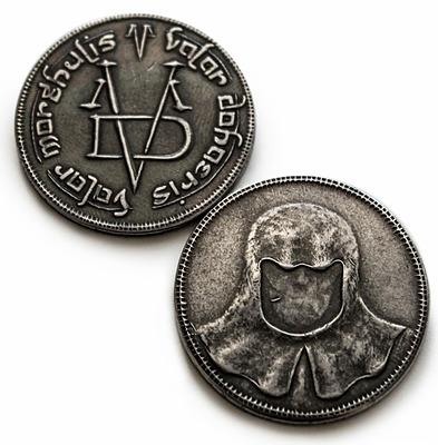 Einfach und sicher online bestellen: Game of Thrones Replik Münze Männer ohne Gesicht in Österreich kaufen.