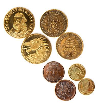 Einfach und sicher online bestellen: Game of Thrones Münzen Set House Targaryen in Österreich kaufen.