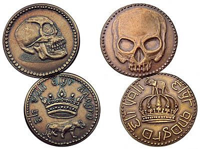 Einfach und sicher online bestellen: Game of Thrones Replik Münzen Set Volantis Honors in Österreich kaufen.