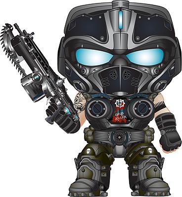 Einfach und sicher online bestellen: Gears of War 4 POP! Vinyl Figur Clayton Carmine in Österreich kaufen.