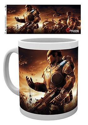 Einfach und sicher online bestellen: Gears of War 4 Tasse Key Art in Österreich kaufen.