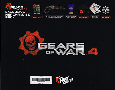 Einfach und sicher online bestellen: Huge Crate Fanbox Gears of War 4 + DLC in Österreich kaufen.