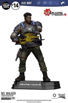 Einfach und sicher online bestellen: Gears of War 4 Actionfigur Delmont Del Walker in Österreich kaufen.