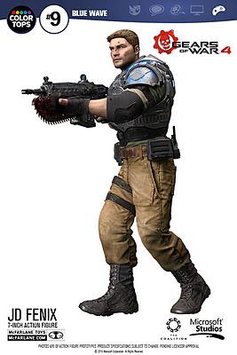 Einfach und sicher online bestellen: Gears of War 4 Actionfigur JD Fenix in Österreich kaufen.