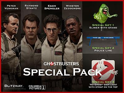 Einfach und sicher online bestellen: Ghostbusters Actionfiguren Special Pack 1/6 in Österreich kaufen.