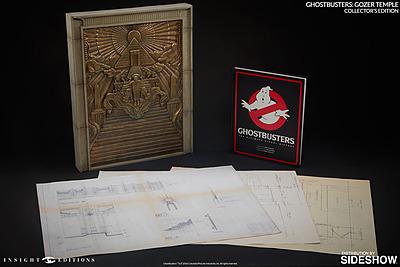 Einfach und sicher online bestellen: Ghostbusters Replik Gozer Temple & Buch in Österreich kaufen.