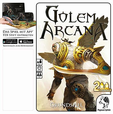 Einfach und sicher online bestellen: Golem Arcana Grundspiel in Österreich kaufen.