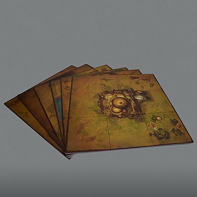 Einfach und sicher online bestellen: Golem Arcana Map Set 2 in Österreich kaufen.